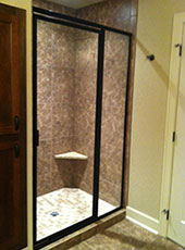 Framed Glass Shower Doors shower doors in ankeny and des moines area | ankeny glass
